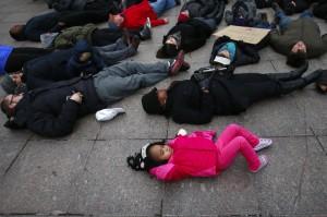Die-in White Plains, NY (REUTERS:Adrees Latif)  Dec 6 2014