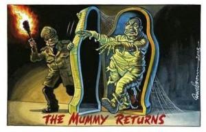 Mubarak returns (R.N.N I FB page) Nov 29 2014