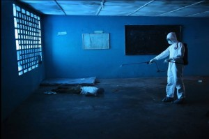 Neoliberal health care:Ebola (John Moore:Getty Images) Dec 31 2014