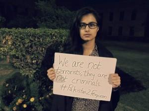 Pakistan solidarity with Ferguson (Fatima Anwar:Via intisaab.wordpress.com) Dec 10 2014