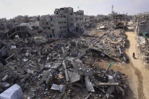Shujaiya district Gaza City (Mohammed Asad:ActiveStills) Nov 29 2014
