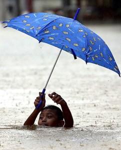 Thai child in flooding (EPA) Dec 20 2014