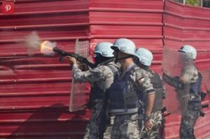 UN troops in Haiti Dec 13 2014