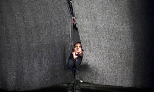 Gaza homeless child (Majdi Fathi:NurPhoto:Corbis) Feb 17 2015