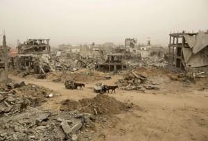 Gaza:Shejaiya (Photograph- Mohammed Abed:AFP:Getty) Feb 15 2015