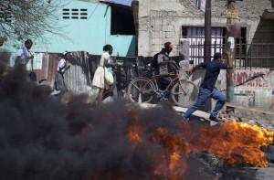 Haiti drivers strike (Andres Martinez Casares:Reuters) Feb 4 2015