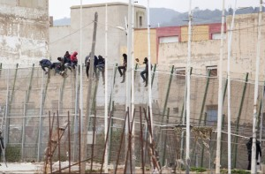 Melilla (Photograph- Angela Rios:AFP:Getty Images) Feb 11 2015
