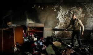 UN school firee in Gaza ( Mohammed Salem:Reuters) Feb 21 2015