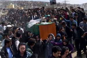 Farkhunda's funeral (Wakil Kohsar:AFP:Getty Images) Mar 23 2015