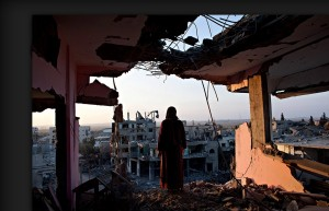 Gaza destruction (Heidi Levine) Mar 28 2015
