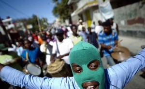 Haiti protest (Hector Retamal:AFP:Getty Images) Mar 6 2015