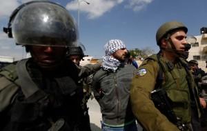 Israeli detainee (REUTERS:Mohamad Torokman) Mar 18 2015