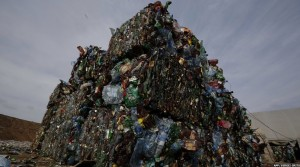 Minsk, Belarus plastic waste (Sergei Grits:AFP) Mar 13 2015