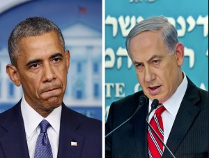 Obama and Netanpsycho (Jpost) Mar 2 2015