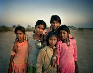 Roma in India- Kamla, Mariam, Zarina, Manissa and Sabnam, Badka ('The Roma Journeys' (India, 2001), Joakim Eskildsen) Mar 19 2015