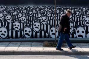 Thessalonia Jewish commemoration ((REUTERS:Alexandros Avramidis) ) Mar 16 2015