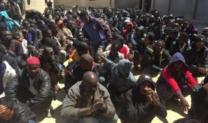 African immigrants in Libya (Yaseen Kanuni for the Guardian) Apr 20 2015