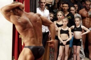 Bodybuilding contest ( Eduard Korniyenko:Reuters) Apr 7 2015