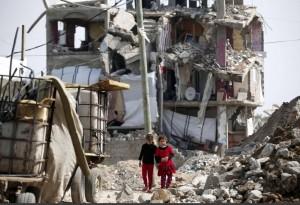 Gaza ( Thomas Coex:AFP:Getty) Apr 18 2015