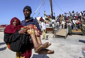 Yemen refugee woman (Feisal Omar:Reuters) Apr 17 2015