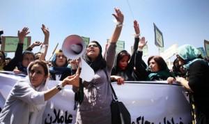 Farkhunda protest (Hedayatullah Amid:EPA) May 12 2015