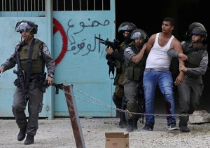 Palestinian detainee REUTERS:Ammar Awad) May 14 2015