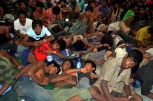 Rohingya & Bangladeshi immigrants ( (Hamzah Osman:AP)_ May 12 2015