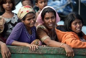 Rohingya refugees (Christophe Archambault?AFP) May 17 2015