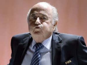 Sepp Blatter (Fabrice Coffrini:AFP:Getty Images) May 29 2015
