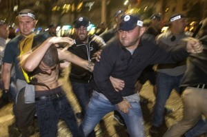 Tel Aviv antiracist protest (Jack Guez:AFP:Getty Images) May 4 2015