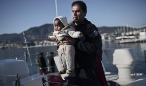 The baby face of immigration ( Angelos Tzortzinis:AFP:Getty Images) Apr 30 2015