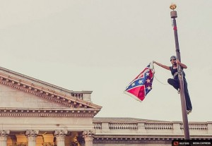 Bree Newsome (Adam Anderson:Reuters) June 28 2015