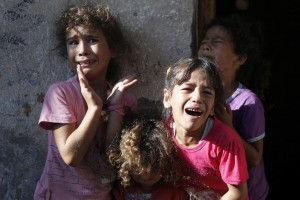 Children in Gaza (AFP:Getty Images) June 13 2015
