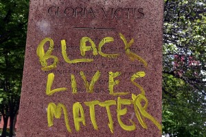 Confederate tombstone (Kim Hairston:Baltimore Sun) June 24 2015