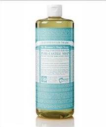 Dr. Bronner's liquid soap June 2 2015