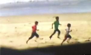 Gaza boys on beach 7:16:2014 (Trevor Hogan:Twitter) June 13 2015