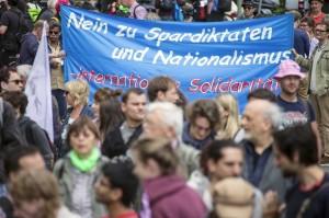 German pro-immigration rally 2015 (Hannibal Hanschke:Reuters) June 21 2015