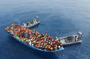 Immigrants in Med rescued by Irish ship (AP) June 9 2015