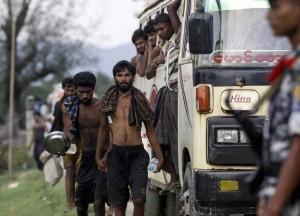 Rohingya landed in Rakhine (REUTERS:Soe Zeya Tun)  June 4 2015