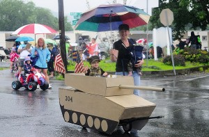 4th of July parade in Port Carbon, PA (Jacqueline Dormer:The Republican-Herald:AP) July 5th 2015