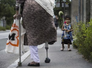 Afghan refugee:amputee (Alexander Koerner:Getty Images) July 23 2015