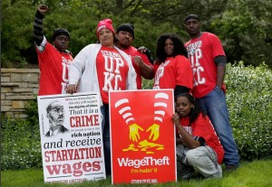 Fast food workers (Sarah Gilbert) July 8 2015