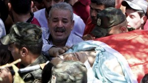 Funeral of Mohammed Alawneh (Abed Omar Qusini:Reuters) July 22 2015