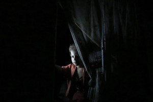 Gaza power outage (Mohammed Saber:EPA) July 28 2015