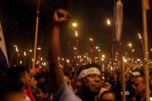 Honduras protests (Jorge Cabrera:Reuters) July 13 2015