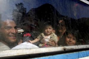 Immigrants in Macedonia (Boris Grdanoski:AP) July 26 2015
