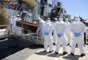 Irish navy in Libya (REUTERS:Antonio Parrinello) July 30 2015