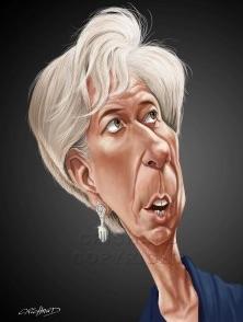 Lagarde caricature July 1 2015