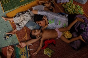 Rohingya in Indonesia camp (James Nachtwey:Time) July 16 2015