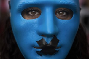 Spain anti-security law protect (Andres Kudacki:AP) July 1 2015